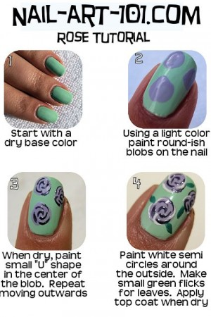 Tutorial: Uñas decoradas con flores