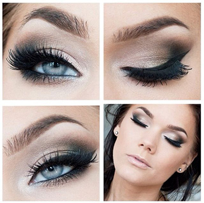 Makeup Ideas For An Evening Wedding : 5 ideas glamorosas de como maquillarte los ojos